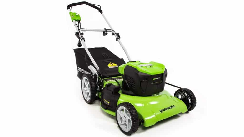 Greenworks Mo13b00 Amp Corded Electric Lawn Mower